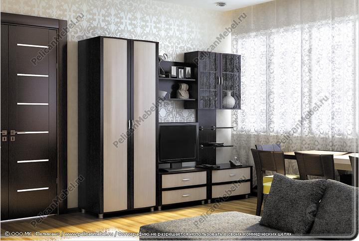 Корпусная мебель для гостиной глория
