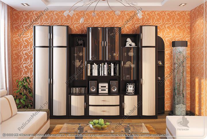 корпусная мебель для гостиной магнолия производитель в пензе