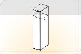 Элементы корпусной детской мебели «Мозаика» - Пенал универсальный. ПУ