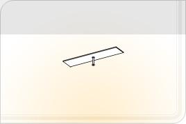 Элементы корпусной мебели для гостиной «Глория» - Карниз - 1. КР-1