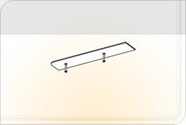 Элементы корпусной мебели для гостиной «Глория» - Карниз - 2. КР-2