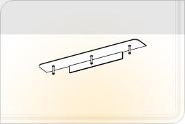 Элементы корпусной мебели для гостиной «Глория» - Карниз - 3. КР-3
