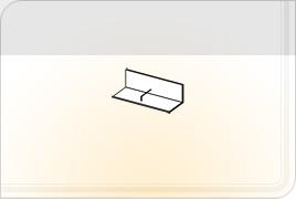 Элементы корпусной мебели для гостиной «Глория» - Полка навесная - 1. ПН-1