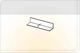 Элементы корпусной мебели для гостиной «Глория» - Полка навесная - 2. ПН-2