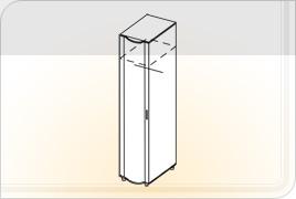 Элементы корпусной мебели для гостиной «Глория» - Пенал универсальный. ПУ