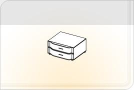 Элементы корпусной мебели для гостиной «Глория» - Тумба - 1. ТБ-1