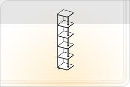Элементы корпусной мебели для гостиной «Глория» - Угол. УГ
