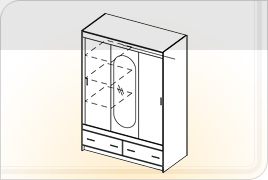 Техническая информация шкафов - Комфорт