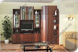 Корпусная мебель для гостиной «Магнолия» - Вариант комплектации 010