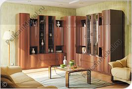 Корпусная мебель для гостиной «Магнолия» - Вариант комплектации 002