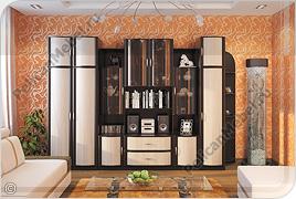 Корпусная мебель для гостиной «Магнолия» - Вариант комплектации 003