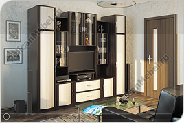 Корпусная мебель для гостиной «Магнолия» - Вариант комплектации 004