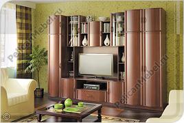 Корпусная мебель для гостиной «Магнолия» - Вариант комплектации 008