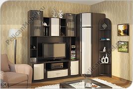 Корпусная мебель для гостиной «Магнолия» - Вариант комплектации 009
