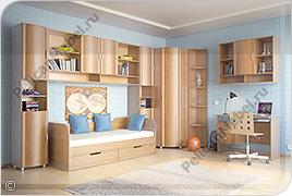 Корпусная детская мебель «Мозаика» - Вариант комплектации 001