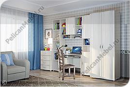 Корпусная детская мебель «Мозаика» - Вариант комплектации 004
