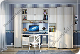 Корпусная детская мебель «Мозаика» - Вариант комплектации 005