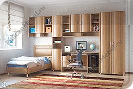 Корпусная детская мебель «Мозаика» - Вариант комплектации 006