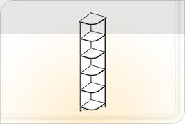 Элементы корпусной мебели для прихожей «Ника» - Угол. УГ