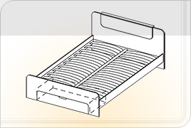 Техническая информация мебели для спальни «Соната» - Соната кровать