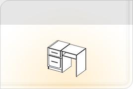 Техническая информация мебели для спальни «Соната» - Соната стол туалетный