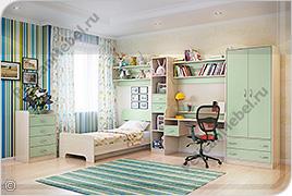 Корпусная детская мебель «Забава» - Вариант комплектации 002