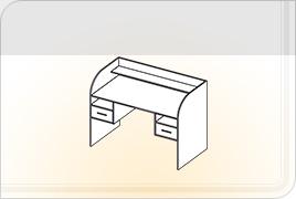 Элементы корпусной детской мебели «Забава» - Стол. СТ